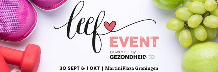 Leef Event Groningen Logo - Steunzolen.nu